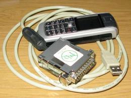Переходник LPT-USB от флексов. Это тот вариант переходника, который следует использовать для техники SDR.