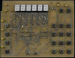 Плата индикации, синтез с 89С52