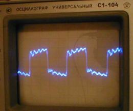 Сигнал гетеродина на смесителе 590КН8