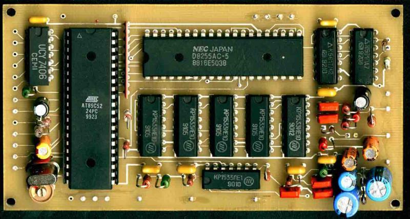 Плата контроллера с 89С52,