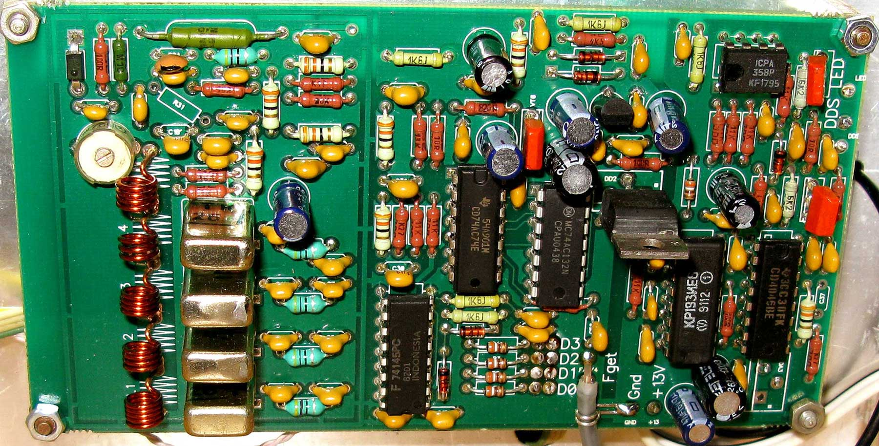 Трансиверы, усилители, техника SDR, антенный анализатор ...